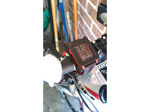 Pebble Time Bike Mount
