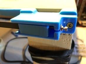 LowRider CNC Belt Stop - No Zip Ties