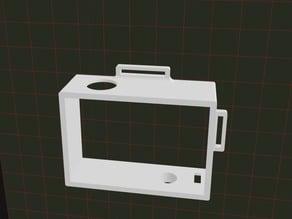 case for Xiaomi YI action camera + lense safe