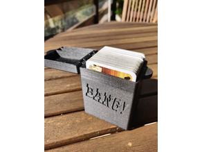 Compact Magnetic Bang! Card Game Holder
