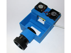 3D Printed Slide Projector