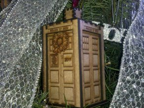 Tardis : Christmas Tree Ornament!