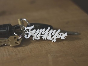 Feminist As #&!% (3.0) Keychain
