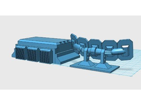 Scifi Radar and Bunker