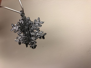 x-mas-star tree ornament