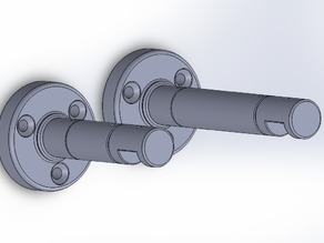 Curtain Rod Wall mount - Gardinen Stangen Halter