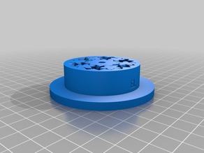 My Customized 1kg Spool Holder with Gear Bearing
