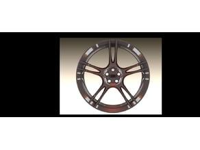 Audi wheel rim