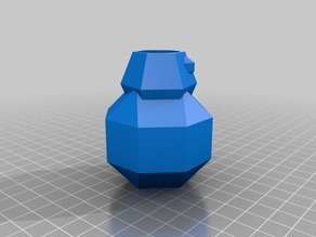 Low-Poly BB-8 Pen Holder