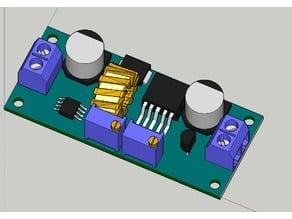 5 Amp CV CC buck Step down Power Supply Module + BOX