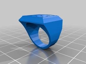 Bailey Shield ring Chamfered3