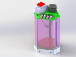 Delta Mines 3D Printer