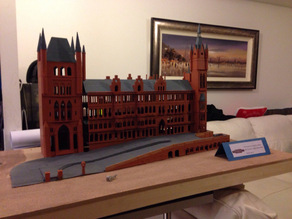 St Pancras N Scale Train Station
