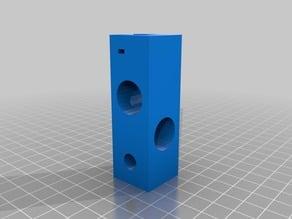 Esquina EjeY 3D 400x400 16mm/8mm Lop3Dmodd-40 B-001