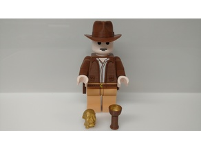 Giant Lego Indiana Jones