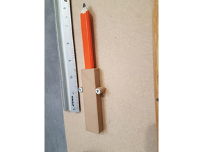 Carpenters or Joiners Pencil Holder