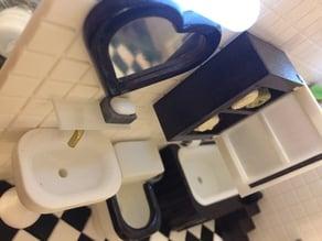 Miniature Washstand  (bathroom)