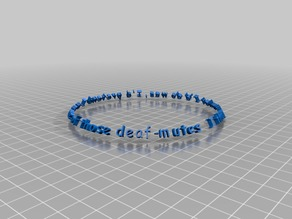 Circle Text for OpenSCAD