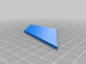 Simple Model Rocket Fin