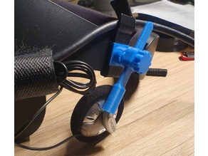 Koss KSC75 flexible mounts for Oculus Rift S