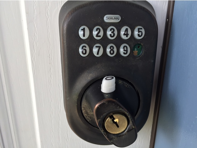 Schlage Door Lock Keypad Replacement Button By Craeen