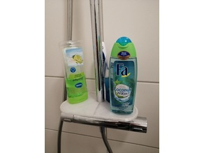 shower gel stand