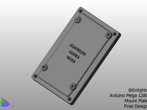 Arduino Mega 1280 Mount Plate