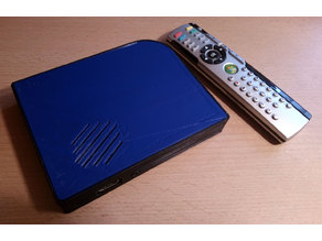 Raspberry Pi 3 Media Center Case