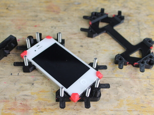 3D printing + sugru = precision rubber parts - iPhone 4/4S or 5 molds