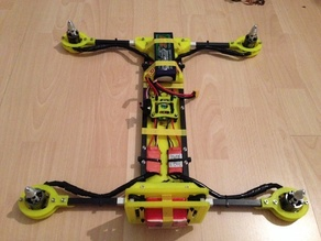 intensewalkera h copter 10mm v5 Frankenstein (the actual clearance is 10.35mm)