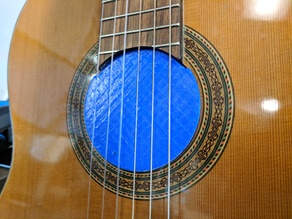 Classical Guitar Sound Hole Plug