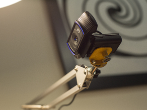 Logitech c920 Webcam Mount for IKEA Tertial Lamp