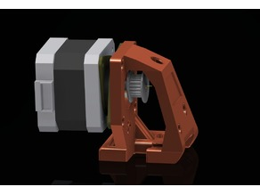 Ender-3 Pro dampened axis Y motor holder v3.1