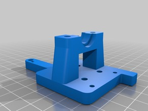 E3D Mount with knurled inserts