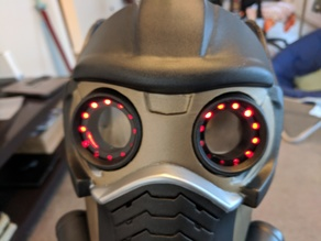 StarLord Mask Eye Insert