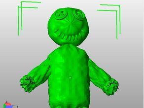 Stuffed Voodoo Doll