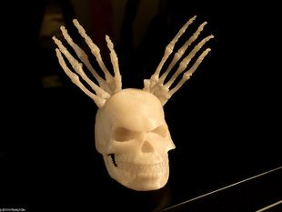 Skull with Antlers (somehow)