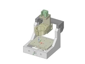 3D Printed Mini Mill