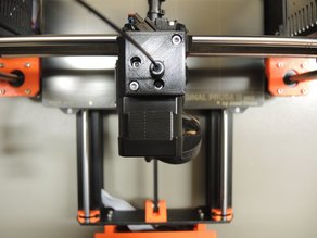 Prusa I3 MK3 - New filament sensor adapter in a separate housing