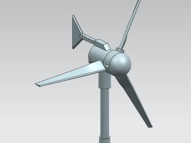 Small Wind Turbine by Heavycreations - Thingiverse