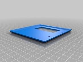 single side decorator plate