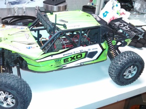 Axial Exo Terra Buggy On/Off Switch Mount Bracket