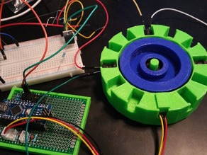 3-Phase Pulse Motor (Arduino Controlled)