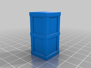 Modern Style Phone Box for Wargames, Slot Tracks or Railways
