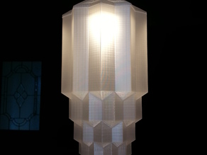 Art Deco style lampshade