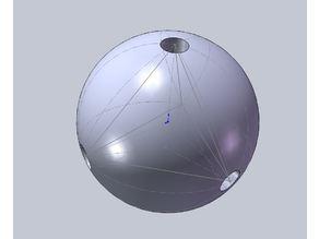 Tetrahedron Center Spoke Hub