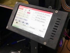 PanelDue 5 Inch Screen Enclosure with Tilt Attachment