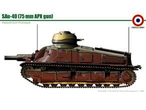 SAu 40- 1/72 Scale