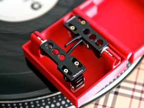 Dual Technics Headshell / Shure Cartridge Case