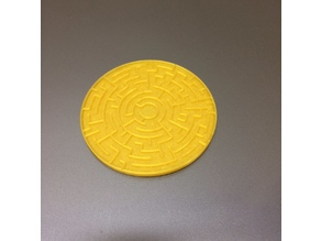 Labyrinth Coin with Code